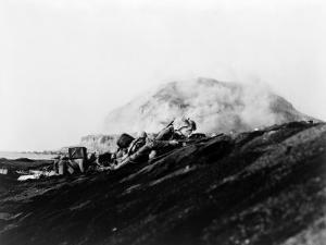 The Second Battalion, Twenty-Seventh Marines Land on Iwo Jima by Bob Campbell