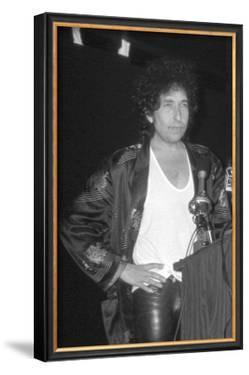 Bob Dylan at Podium