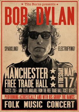 Bob Dylan Manchester Free Trade Hall