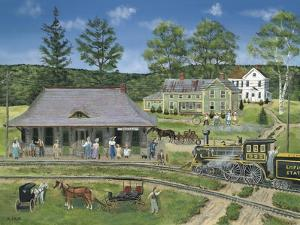 The Canaan Station by Bob Fair