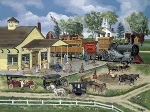 Train Station by Bob Fair