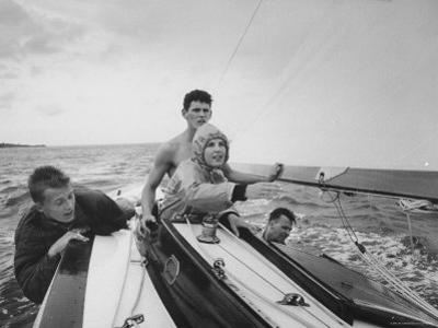 Sailing Class on Long Island Sound