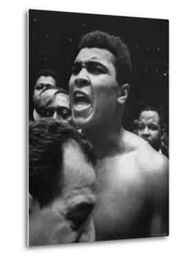 World Heavyweight Champion, Cassius M. Clay, After Winning Bout Against Cleveland Williams by Bob Gomel