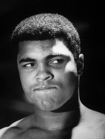 World Heavyweight Champion, Cassius M. Clay, After Winning Bout Against Cleveland Williams