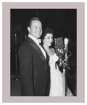 Bob Hope and Elizabeth Taylor