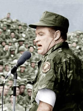 Bob Hope entertains the troops in Vietnam, ca. late 1960s