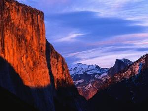 El Capitan at Sunset by Bob Jacobson