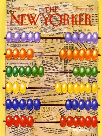 The New Yorker Cover - April 17, 1989