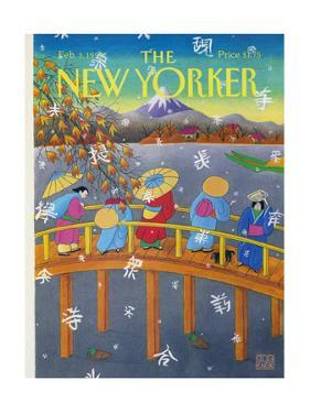 The New Yorker Cover - February 3, 1992 by Bob Knox