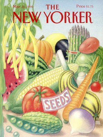 The New Yorker Cover - March 26, 1990
