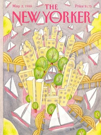 The New Yorker Cover - May 2, 1988
