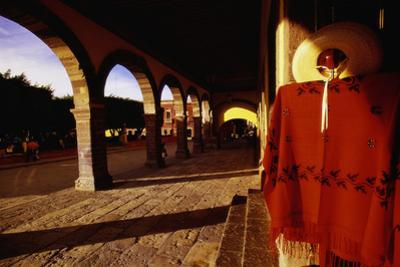 Mexican Clothing near Jardin Square by Bob Krist