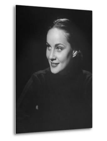 Italian Model Alida Valli Smiling by Bob Landry