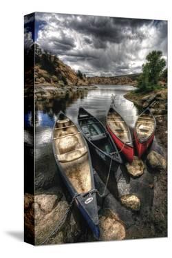 Canoe Break II by Bob Larson