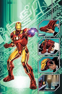 Iron Man: The End No.1 Cover: Iron Man by Bob Layton
