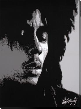 Bob Marley: Eyes Closed in Black & White