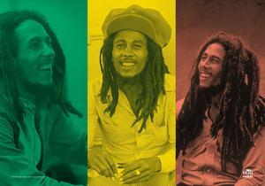 Bob Marley - Rasta Collage