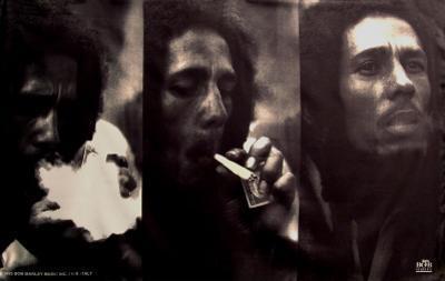 Bob Marley - Triple Portrait
