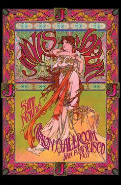 Bob Masse- Janis Joplin Avalon Ballroom Nov 1967 by Bob Masse