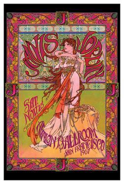 Bob Masse- Janis Joplin Avalon Ballroom Nov 1967 by Bob Masse