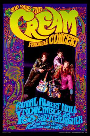 Cream Farewell Concert by Bob Masse