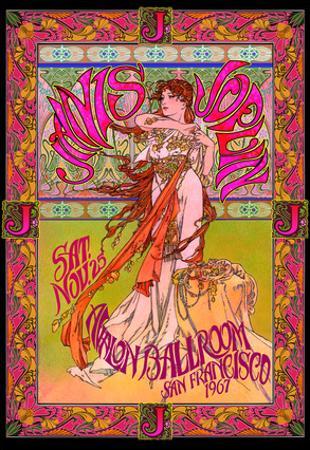 Janis Joplin, Avalon Ballroom, San Francisco 1967 by Bob Masse