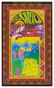 The Who in Concert by Bob Masse