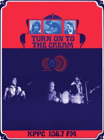 Turn on to the Cream, KPPC Radio, Los Angeles 1968 by Bob Masse