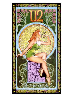 U2 in Concert, Texas by Bob Masse