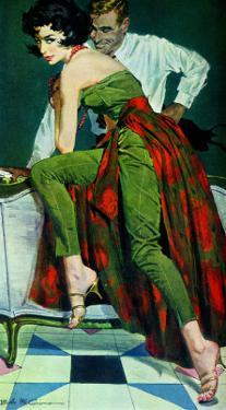 "The Other Wife - Saturday Evening Post ""Men at the Top"", January 30, 1960 pg.31 by Bob Me Ginnis"
