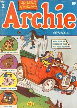 Archie Comics Retro: Archie Comic Book Cover No.2 (Aged) by Bob Montana