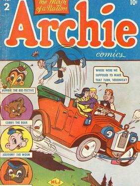 Archie Comics Retro: Archie Comic Book Cover No.2 (Aged) by Bob Montana