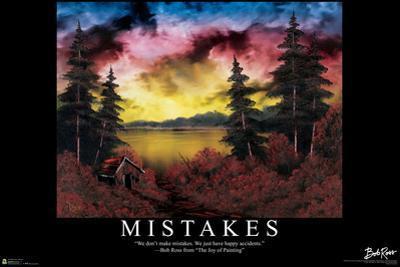 Bob Ross - Mistakes by Bob Ross