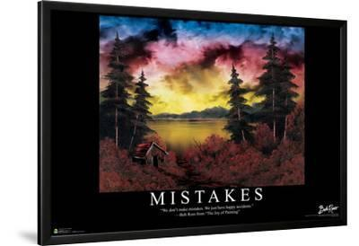 Bob Ross - Mistakes by Bob Ross