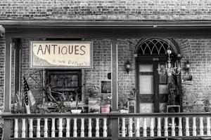 Antiques BW by Bob Rouse