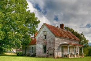horse creek farmhouse by Bob Rouse