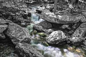 Jim Bales Rapids 2 BW by Bob Rouse