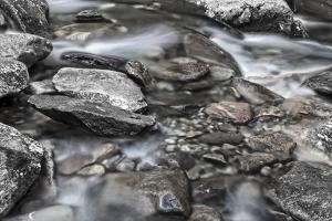 More Rocks BW by Bob Rouse