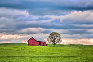 Red Barn by Bob Rouse