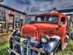Red Dodge 2 by Bob Rouse