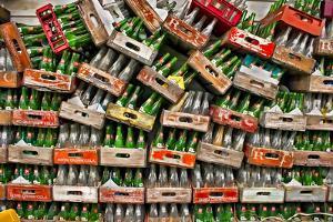 Soda Pop Bottles by Bob Rouse