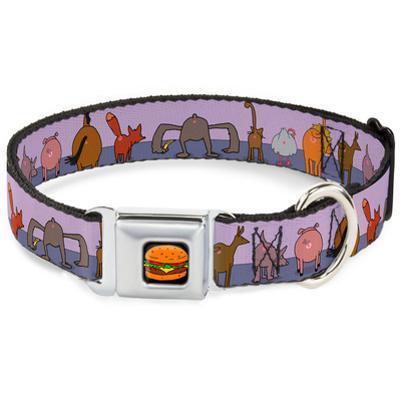 Bob's Burgers - Animal Butt Portraits Dog Collar