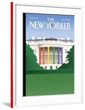 The New Yorker Cover - May 21, 2012 by Bob Staake