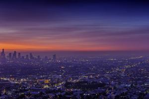 Los Angeles at Dawn by Bob Stefko