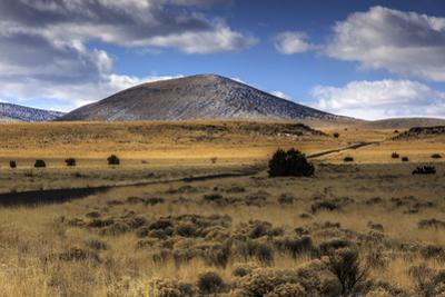 Road and Volcanic Mountains by Bob Stefko