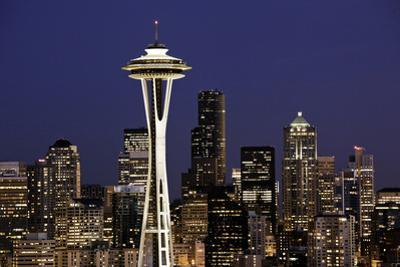Space Needle I by Bob Stefko