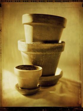Terracotta Pots II by Bob Stefko