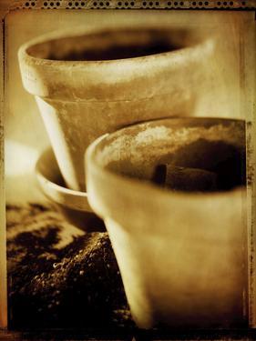 Terracotta Pots III by Bob Stefko