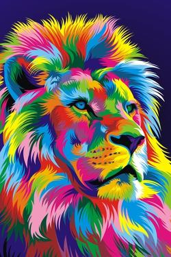 Lion New by Bob Weer