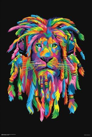 Lion Rasta by Bob Weer